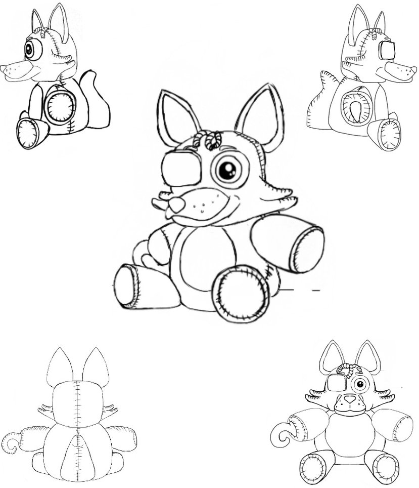 Foxy Fnaf Drawing At Getdrawings Com Free For Personal Use Foxy