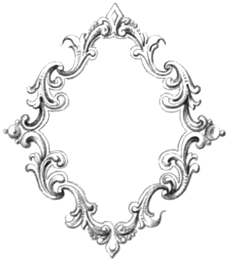 446x511 Free Clipart Vintage Frame Image Oh So Nifty Vintage Graphics