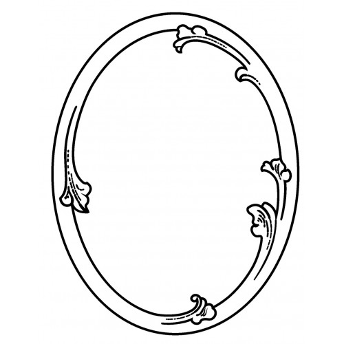 500x500 Best Photos Of Oval Frame Drawing