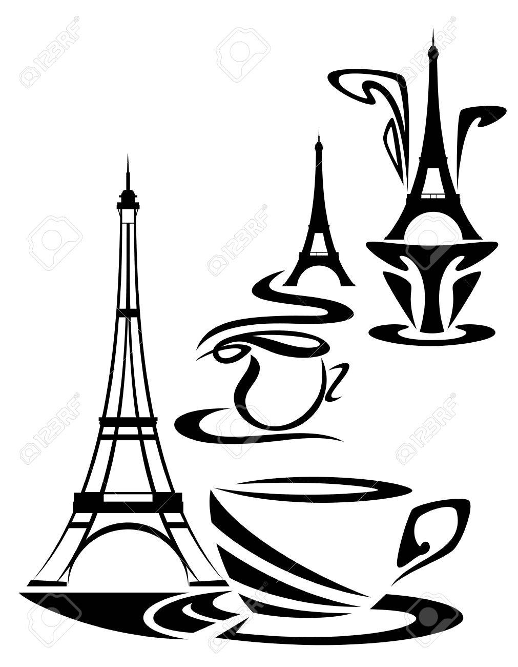 1011x1300 French Coffee Time Design