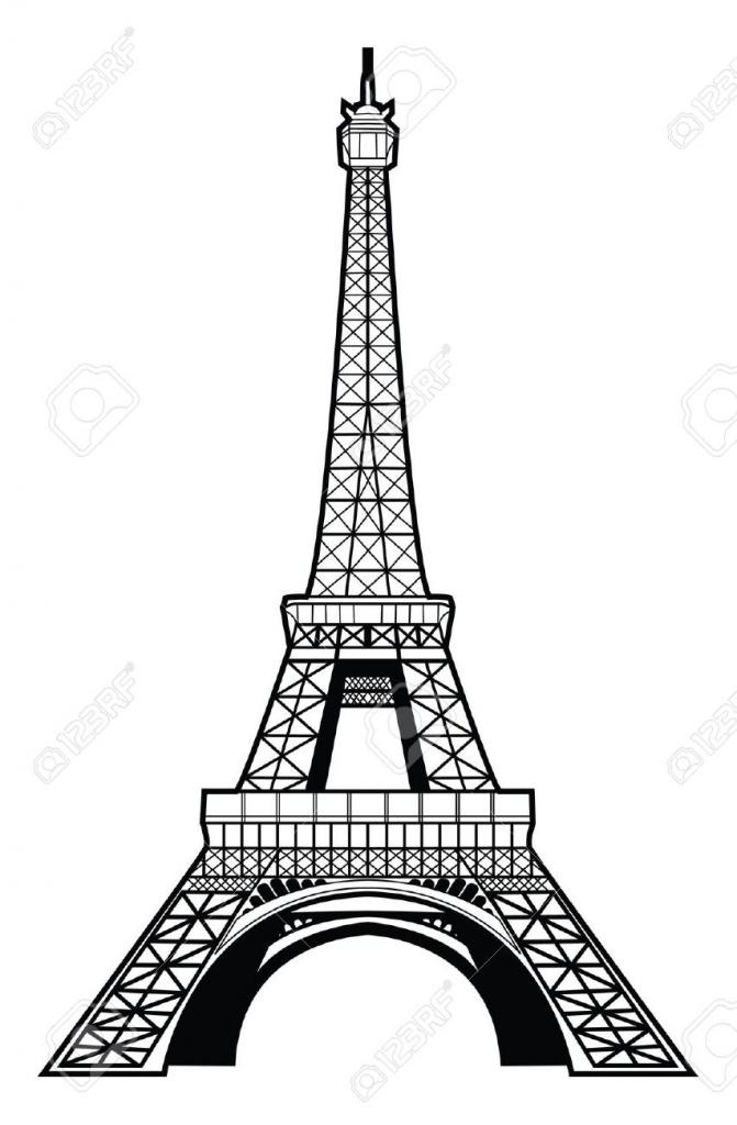 671x1024 Gallery Paris Eiffel Tower Drawings,