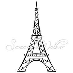 236x236 Easy Eiffel Tower Drawing These Die Cuts Will Make Great Vinyl