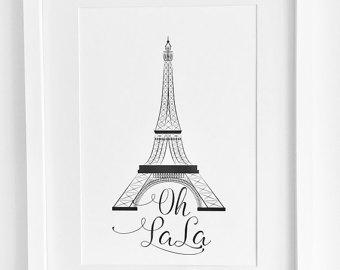 340x270 Eiffel Tower Art Eiffel Vii 11x14 Paris France Print