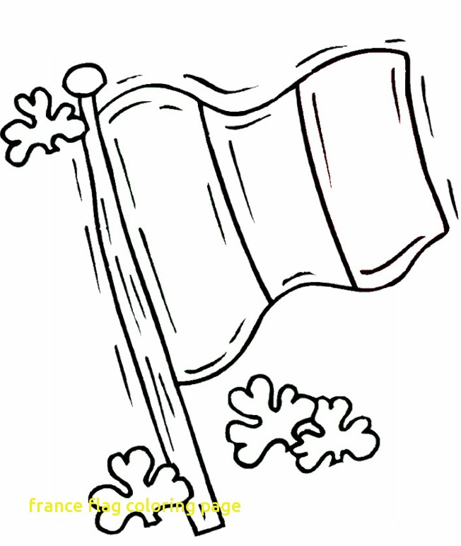 652x772 France Flag Coloring Page With Irish Flag Coloring Page Coloring