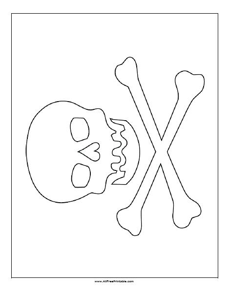467x604 Free Printable Pirate Flag Coloring Page A East Germany Murs