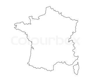 320x280 Stylized Map Of France Things That Different Regions In France Are