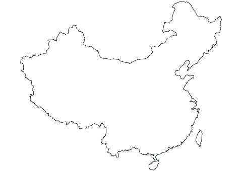 480x340 China Flag Coloring Page Elegant Blank Pages Crayola Murs