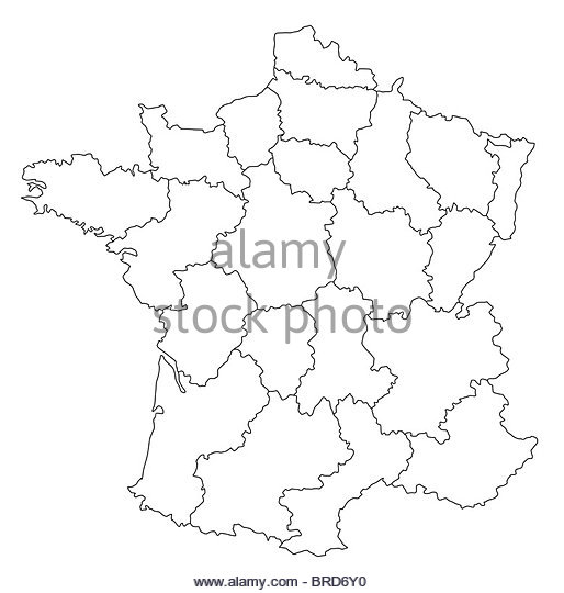 514x540 France Map Black And White Stock Photos Amp Images