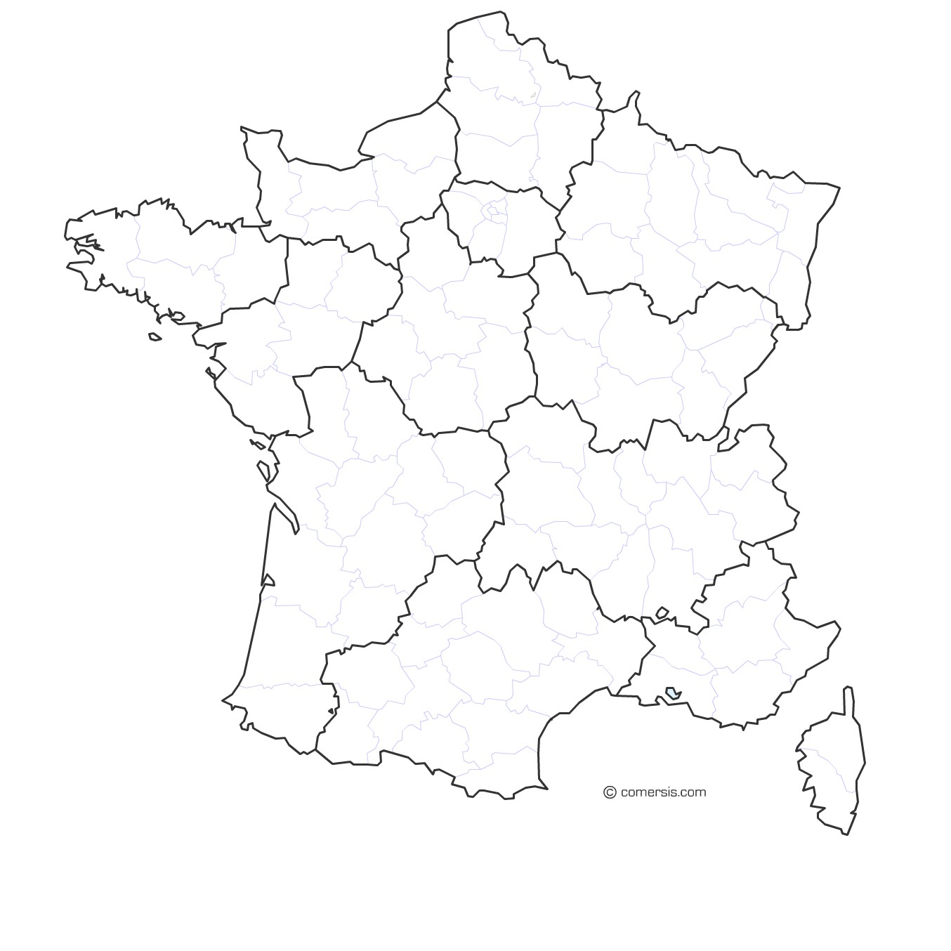 1354x1354 Maps Of France