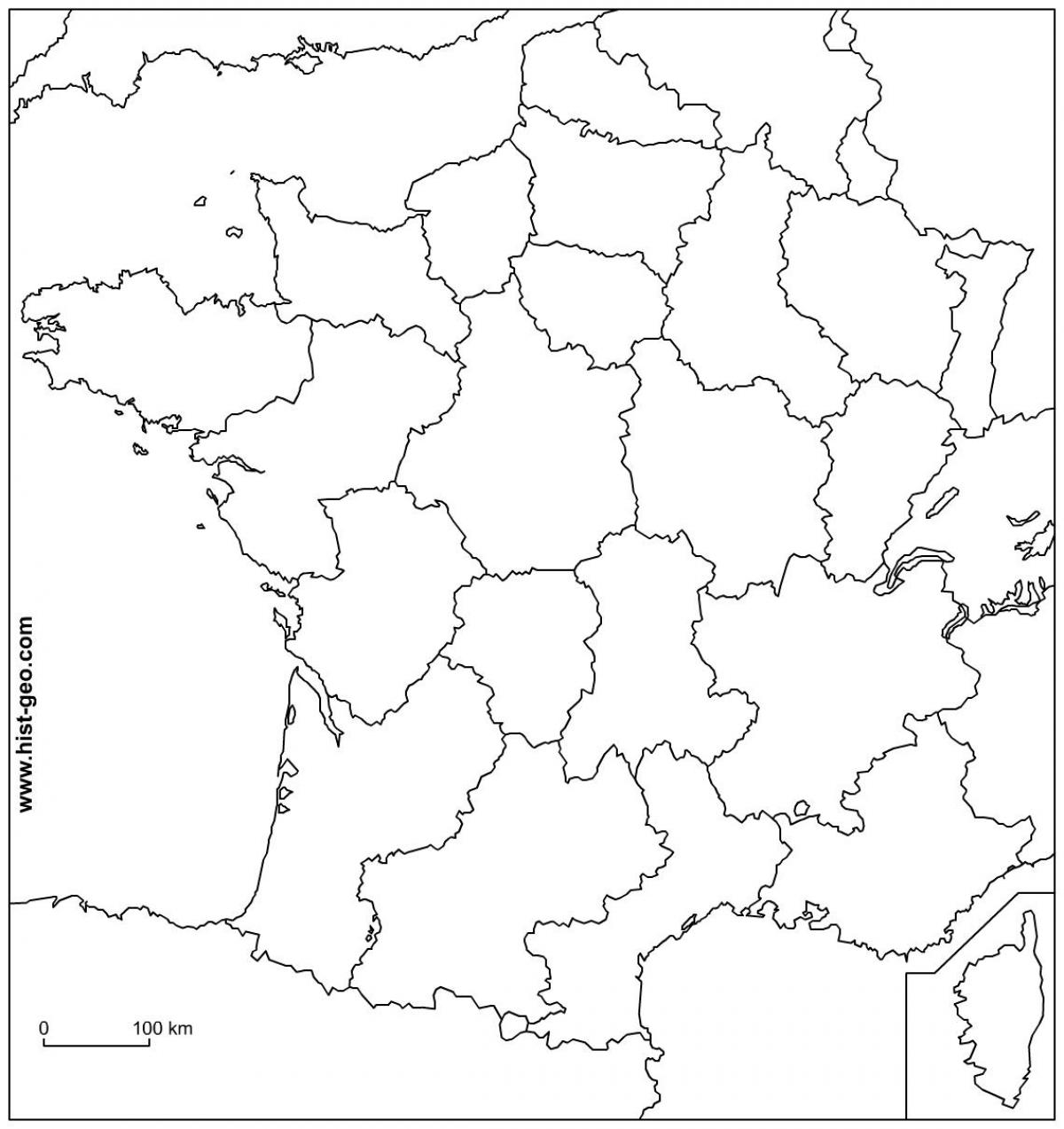 1200x1273 Physical Map Of France Outline