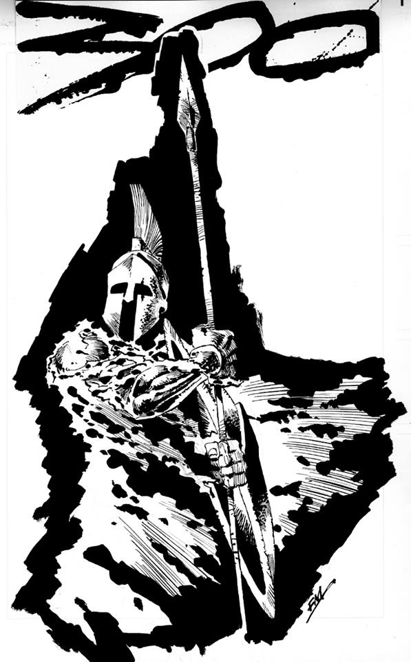 Frank Miller Drawing