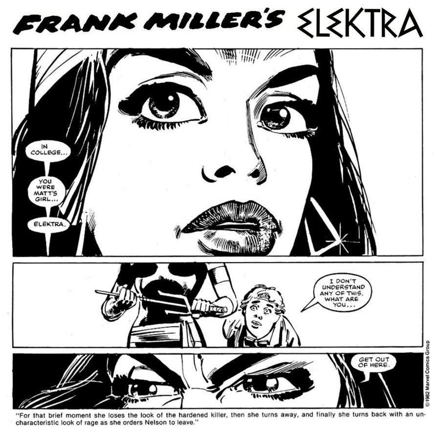 894x894 Frank Miller's Elektra By Stevenely