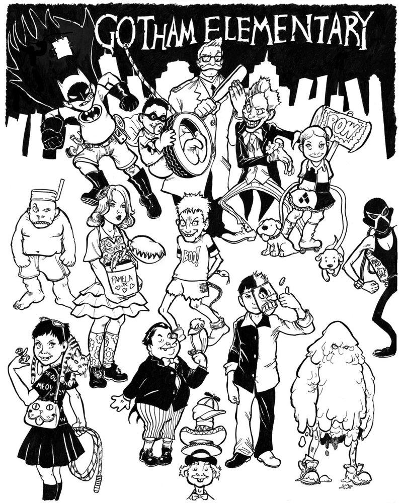 797x1002 Frank Miller's Gotham Elementary By Cluedog