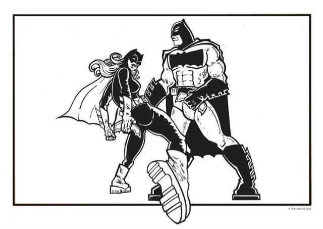 640x453 Frank Vollaro's Comic And Illustration Blog Batgirl The Dark