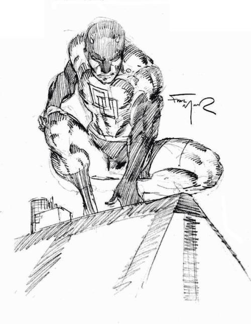500x645 Frank Miller's Daredevil Tumblr