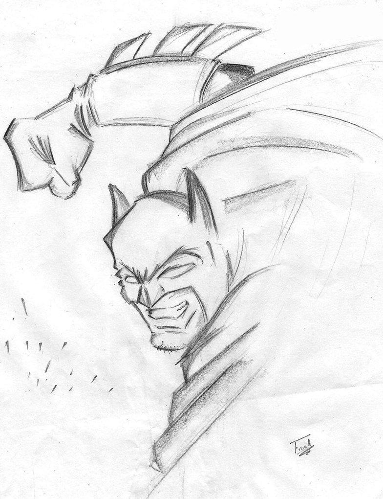784x1020 Batman Frank Miller By Pdlifrank