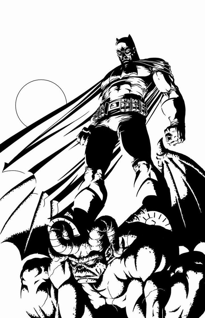 719x1111 Batman Miller Time By Mannixfrancisco