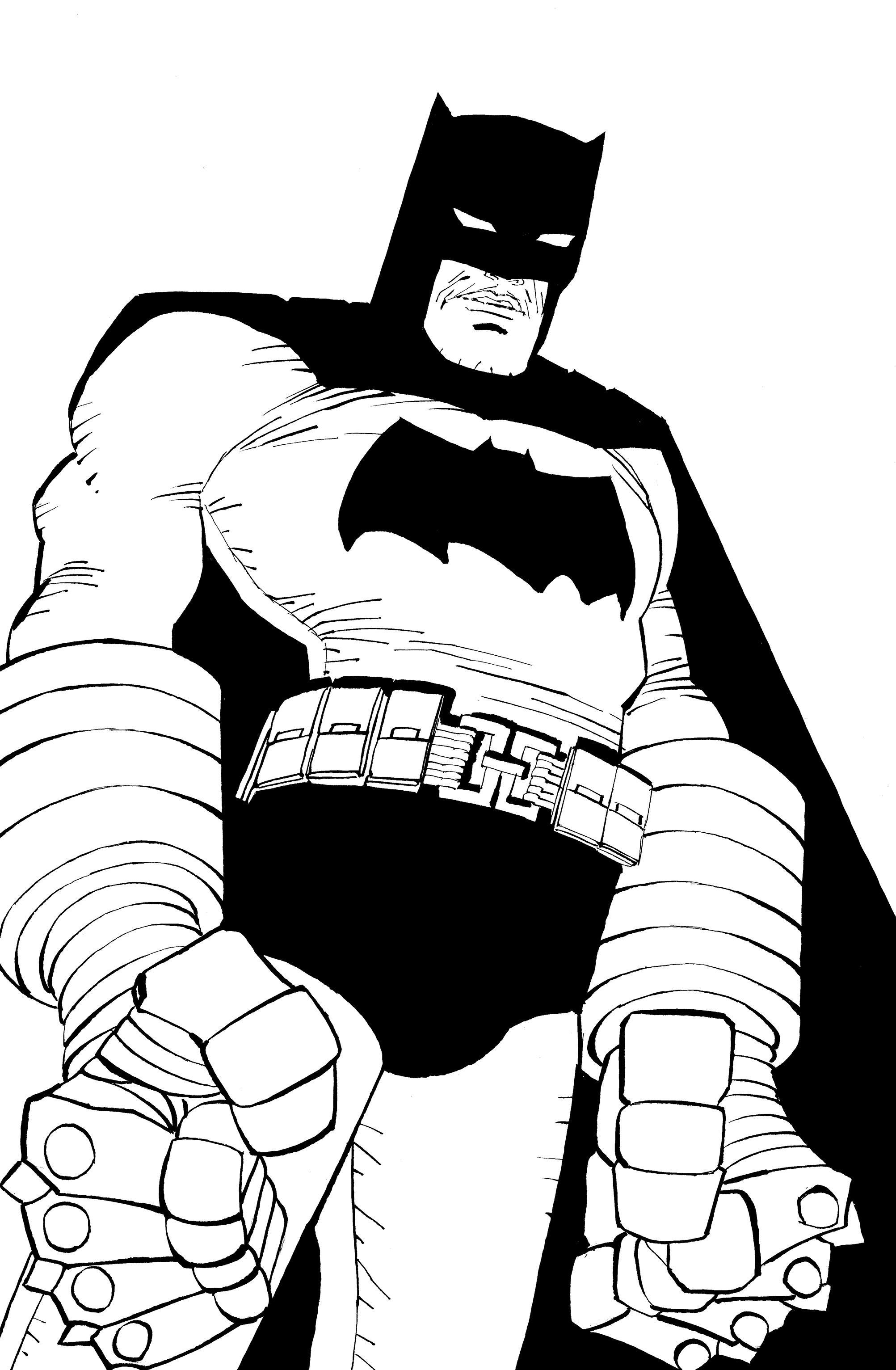 2005x3065 Batman Noir The Dark Knight Strikes Again By Frank Miller