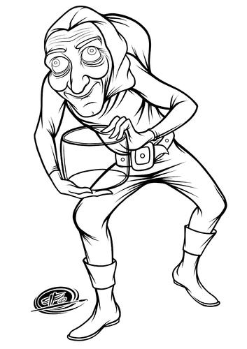 353x500 Marty Feldman By Elle62 Famous People Cartoon Toonpool