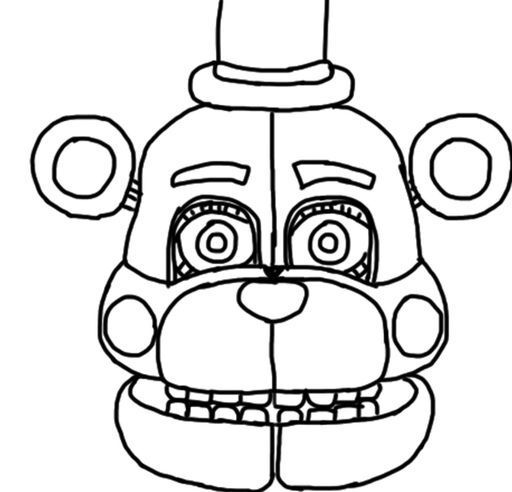 sister location five nights at freddy\'s coloring pages | Freddy Drawing at GetDrawings.com | Free for personal use ...