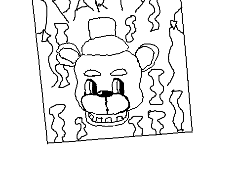 Freddy Fazbear Drawing at GetDrawings com | Free for