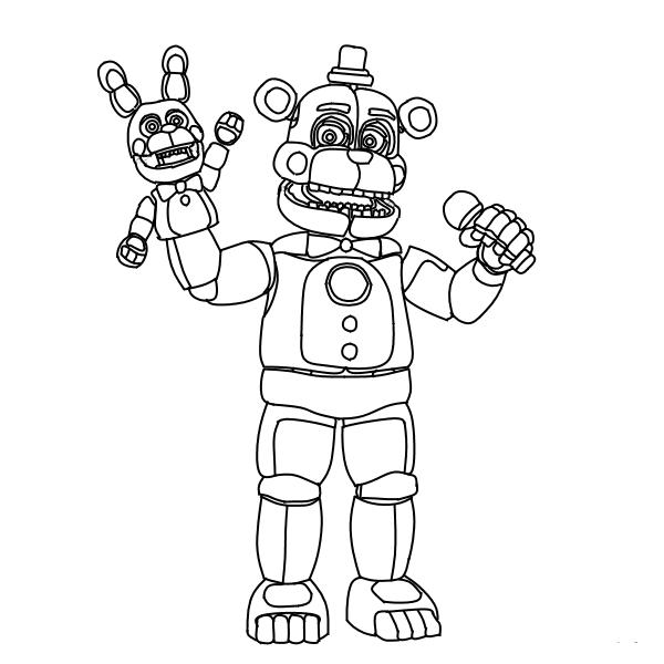 Freddy Fazbear Drawing At Getdrawings