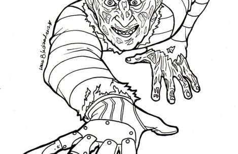 Freddy Krueger Drawing at GetDrawings | Free download