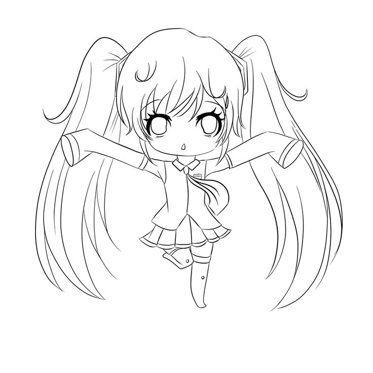 736x736 Free Anime Coloring Pages