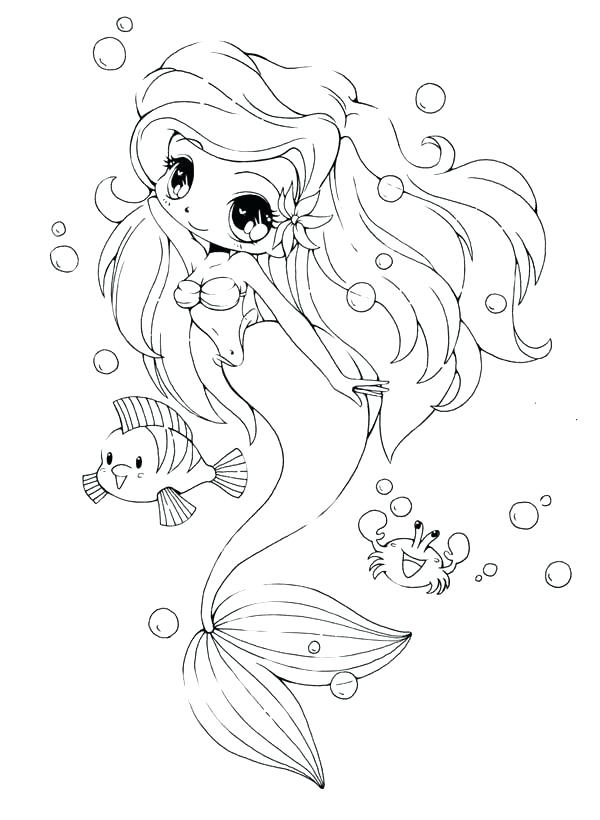 600x820 New Free Anime Coloring Pages Print And Cute Girl Drawing