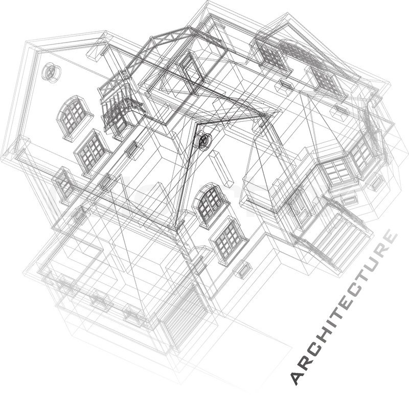 Free building drawing at getdrawings free for personal use 800x772 architectural background with a 3d building model part of malvernweather Images