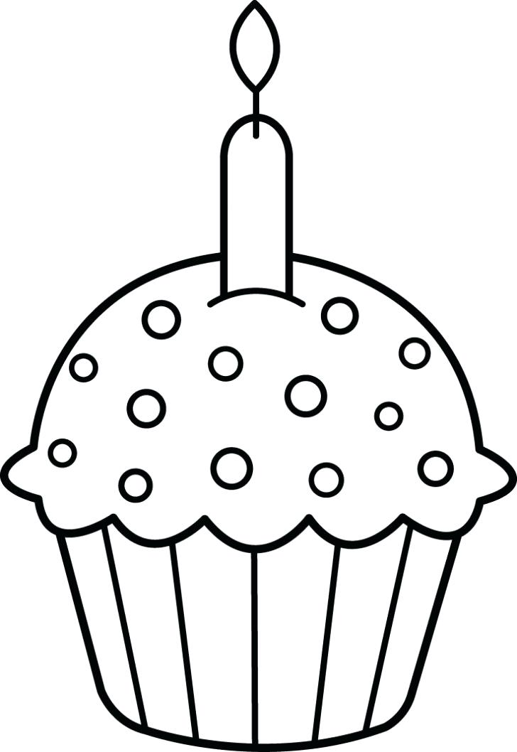 728x1058 Candle Coloring Page