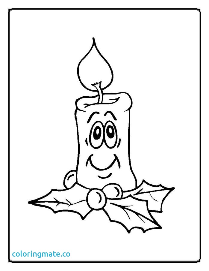 698x903 Candle Coloring Page Fresh Free Candles And Holly Coloring Pages