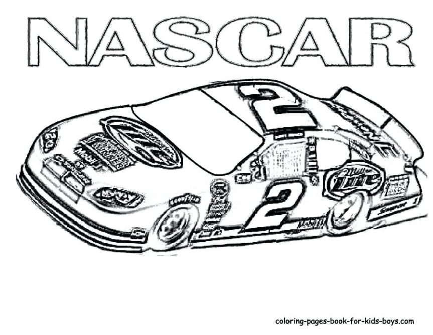 863x667 Racing Cars Coloring Pages Race Car Color Free Printable Truck