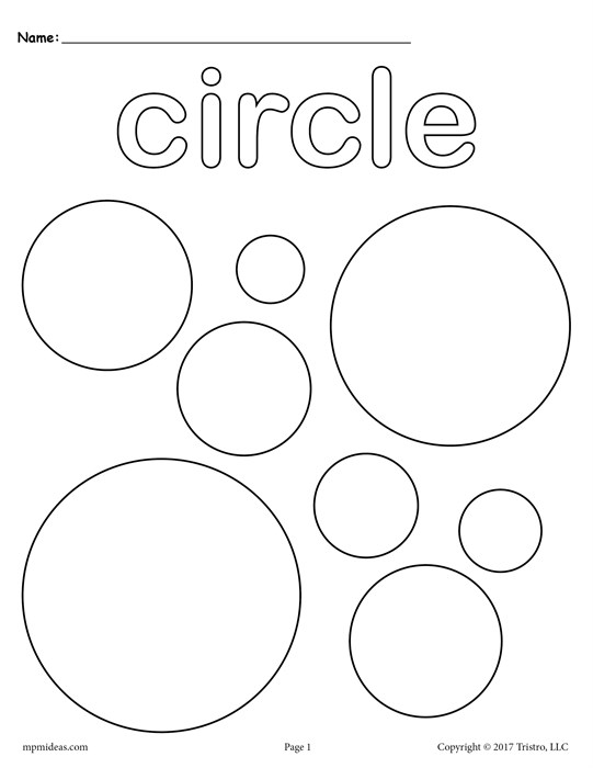 541x700 Free Circles Coloring Page