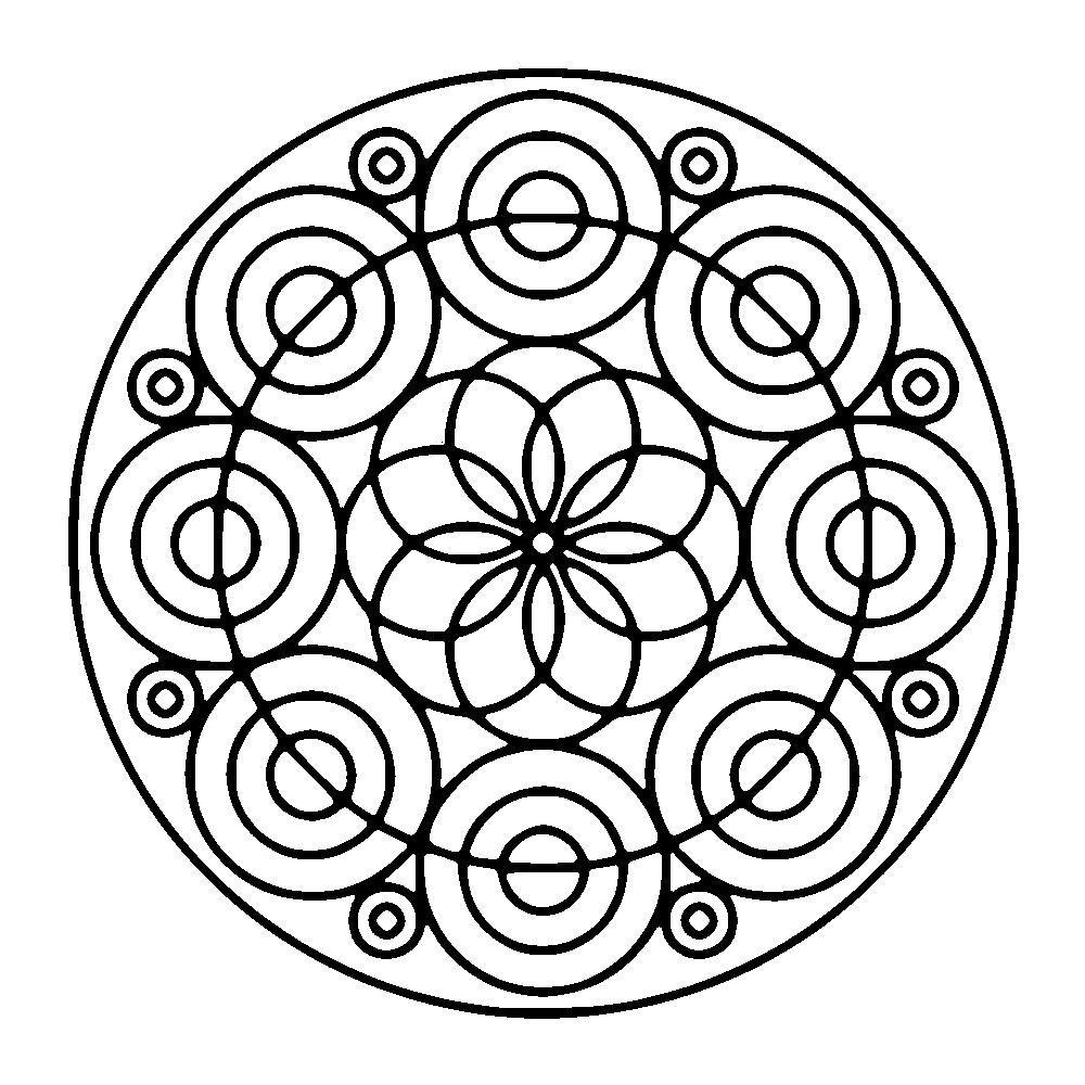 1000x1000 Free Mandalas Page Forming Circles Forming