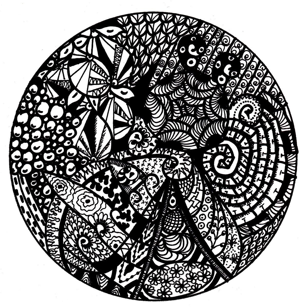 1198x1200 Free Printable Mandala Coloring Pages Mandala Zentangle