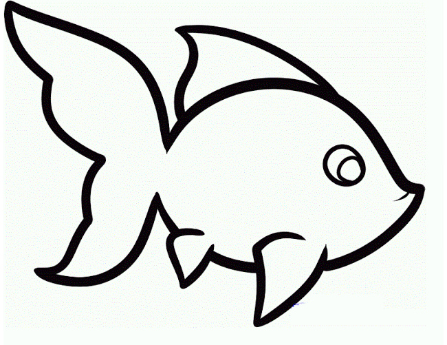 650x501 Fish Outline Outline Drawings Of Fish Group 75 Music Clipart