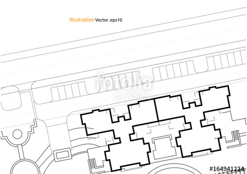 500x352 Architectural Background, Architectural Plan, Construction Drawing