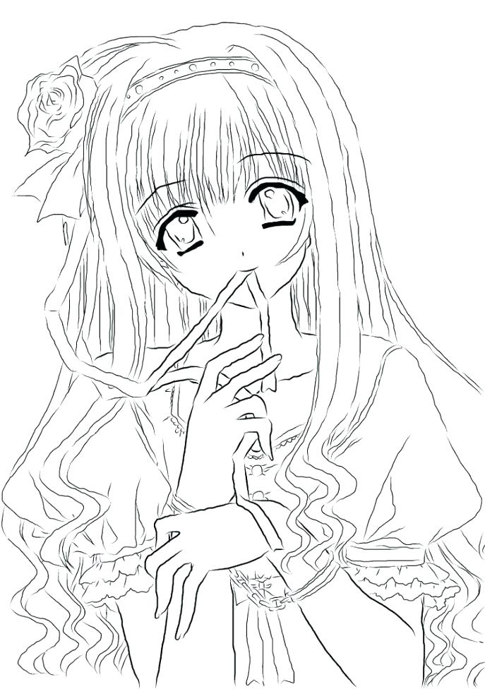 687x976 Chibi Anime Coloring Pages Anime Angel And Devil Coloring Pages