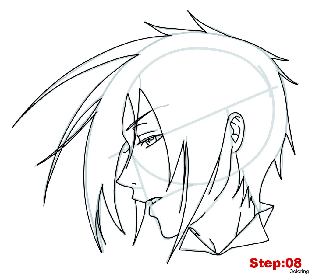 1024x907 Easy Drawings Of Anime Draw Drawn Out And Ready To Color In I Do