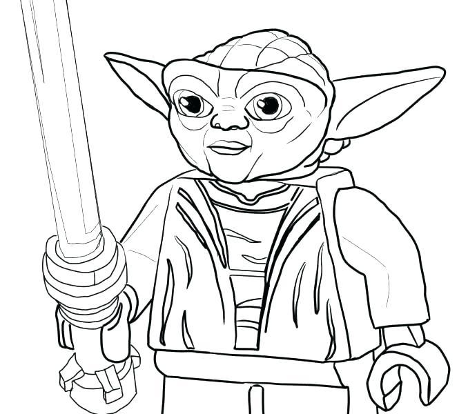 678x600 Yoda Coloring Page Cortefocal.site