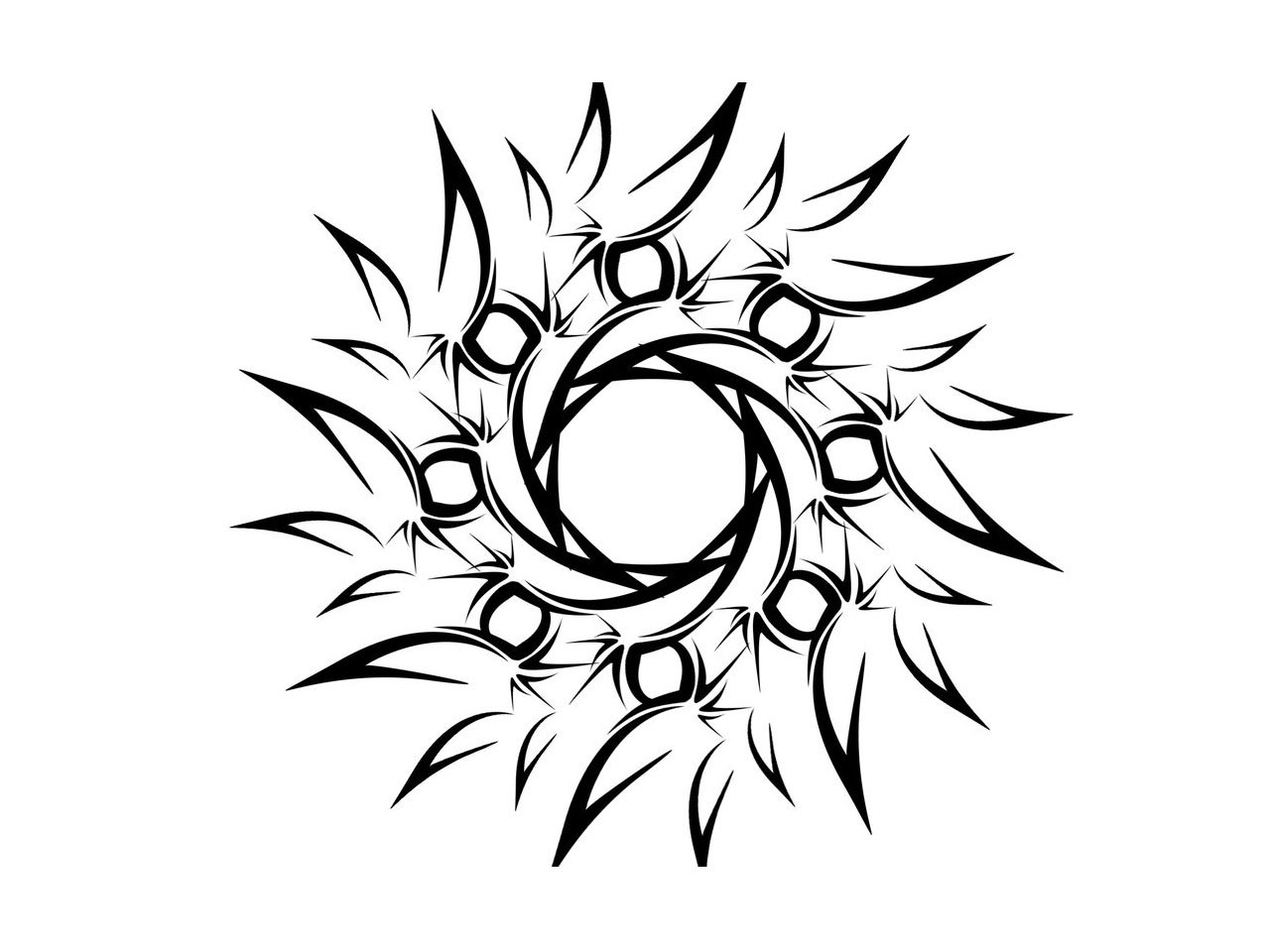 1280x960 Stylized Designs To Draw Designs To Draw Clipart Pie Cliparts