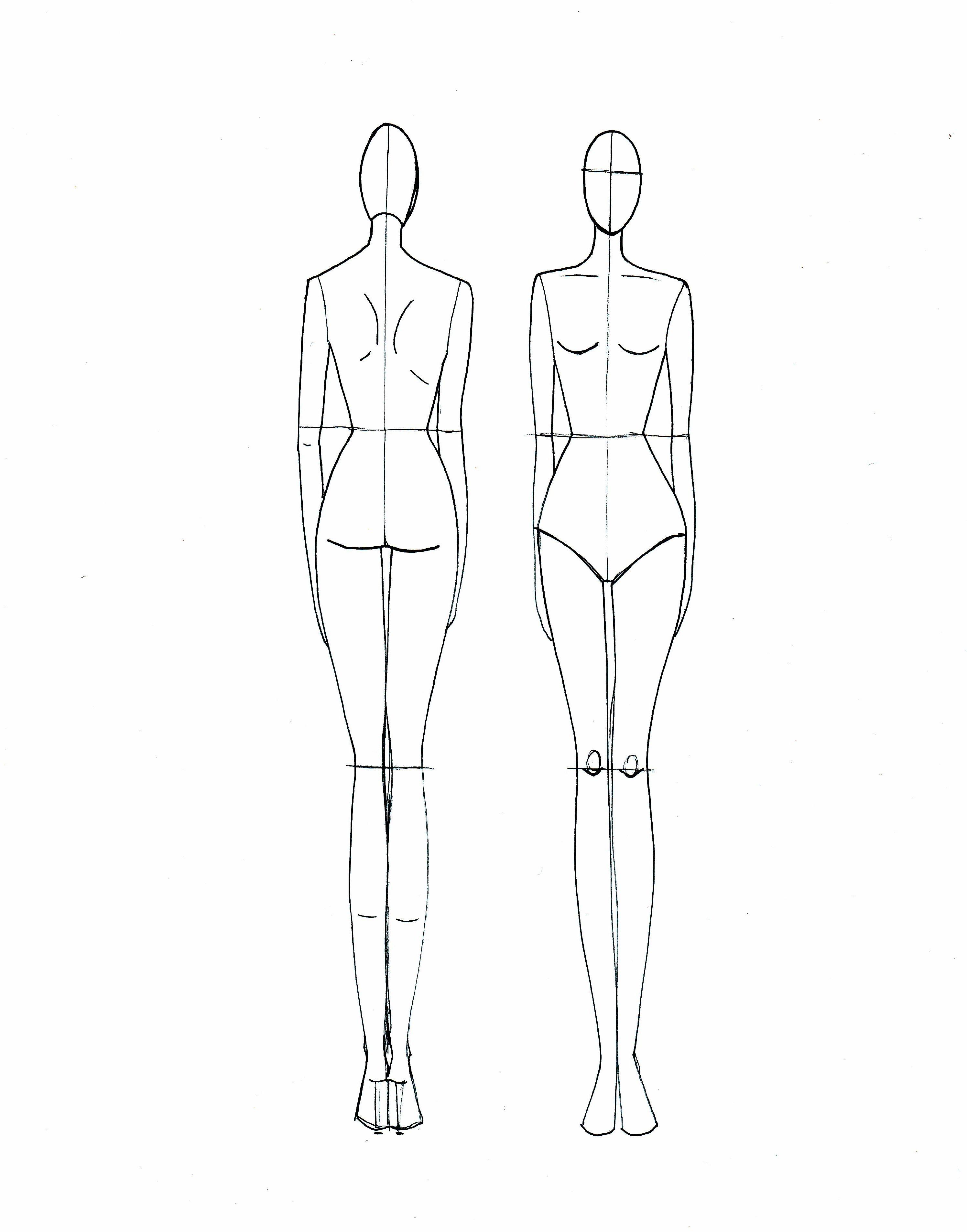 2990x3811 Fashion Designs Sketches Models Rclako5x Drawing