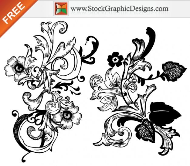 626x547 Floral Jali Patterns