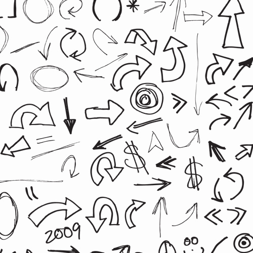 500x500 More Free Arrow Vector Downloads Signs Amp Symbols