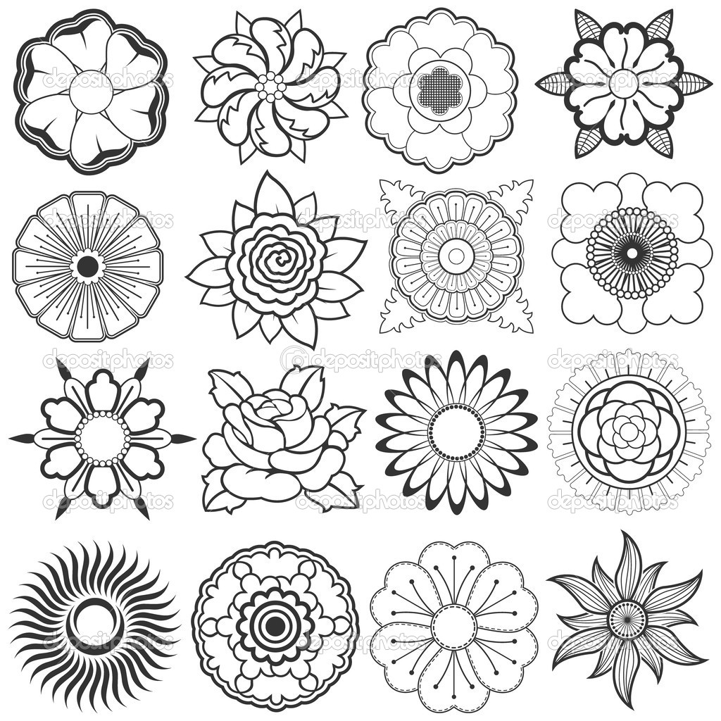 1024x1024 Sketches Flowers Hd Wallpapers Download Free Sketches