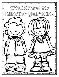 236x305 Welcome To Kindergarten! Free Color Sheet K Beginning