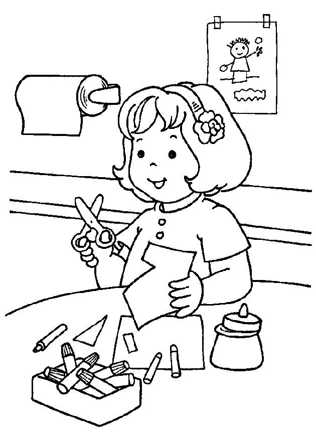 630x861 Coloring Pages Kindergarten