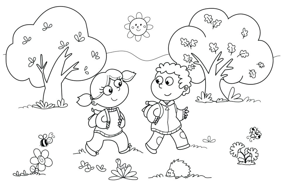 970x639 Drug Free Coloring Pages Pages Animals Kindergarten For Summer