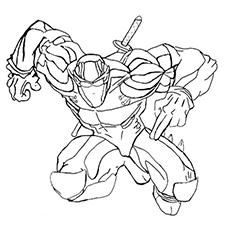 230x230 Top 20 Free Printable Ninja Coloring Pages Online